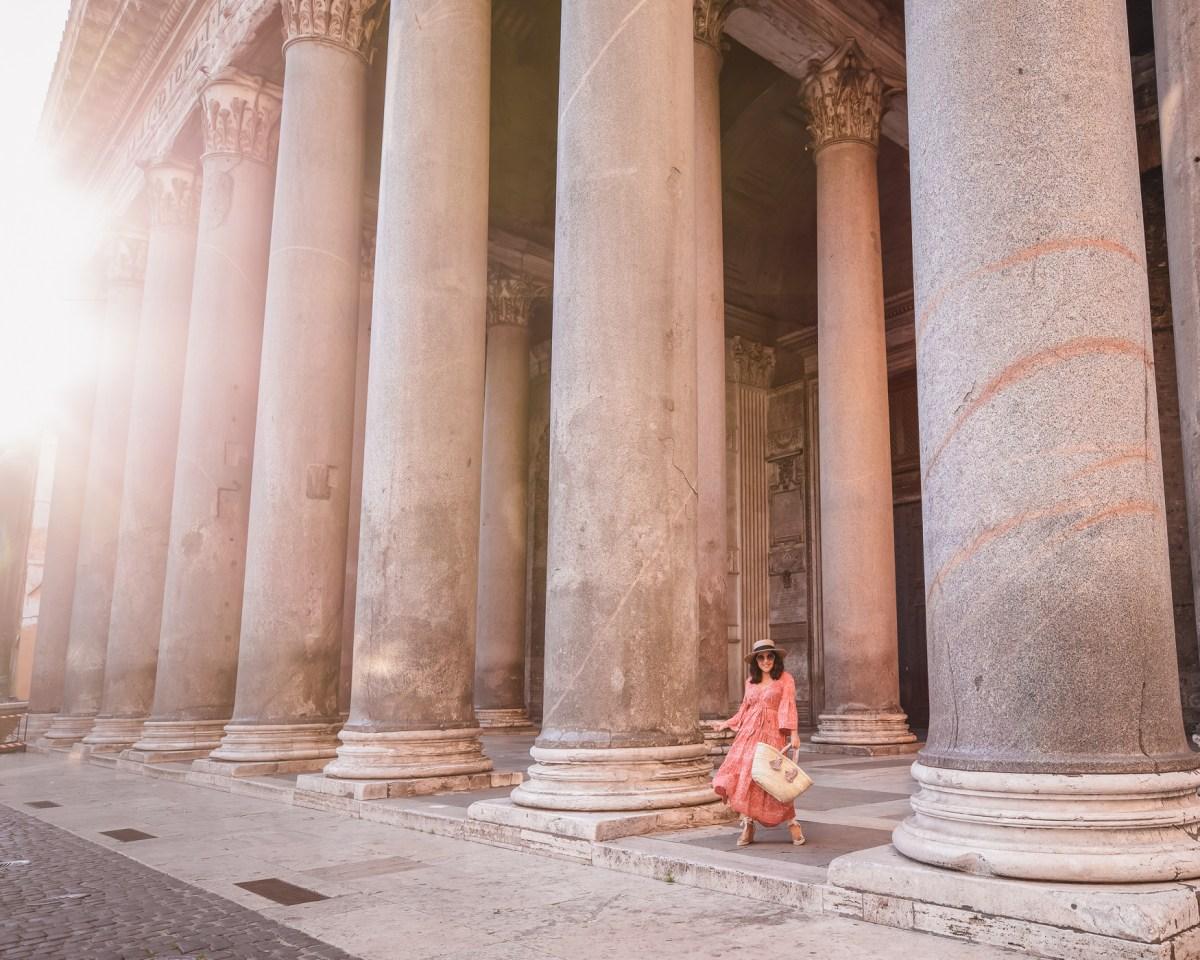 Sunrise at the Pantheon, Rome