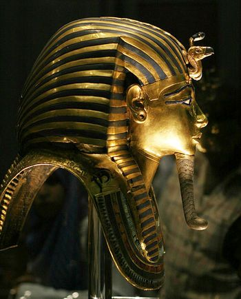 Tutankhamun's Golden Death Mask