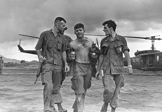 Fascinating Historical Picture of Gary M. Rose with Operation Tailwind 1970 in 1970