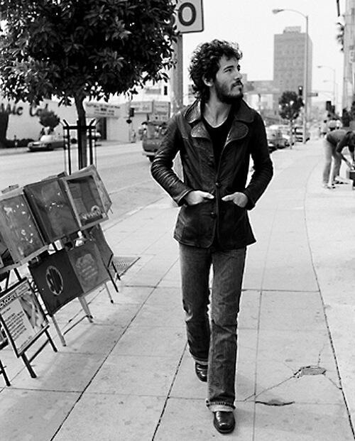 Stunning Image of Bruce Springsteen in 1975