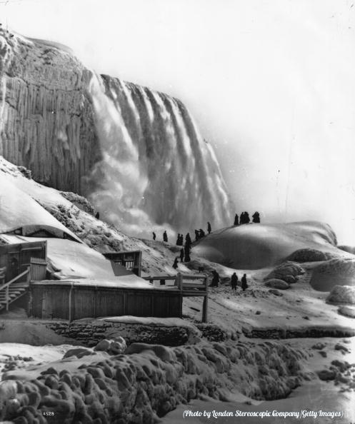 Stunning Image of Niagara Falls in 1896