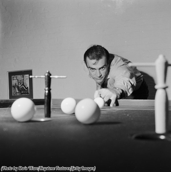 Stunning Image of Sean Connery in 1962