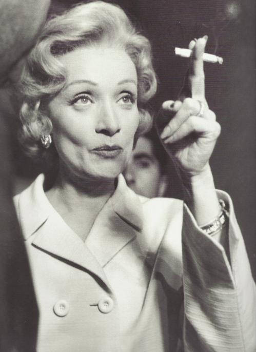 This is What Marlene Dietrich Looked Like  in 1950