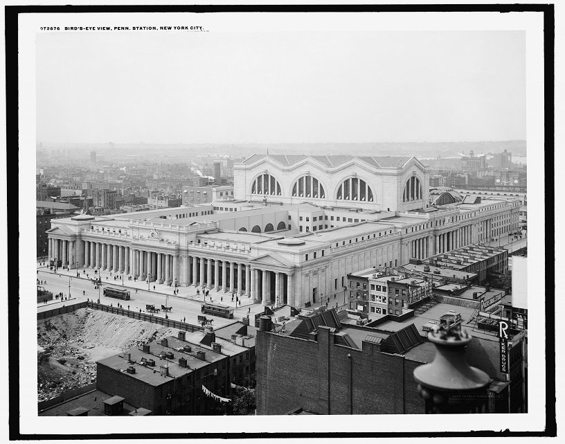 Check Out What Penn Station Looked Like  in 1915