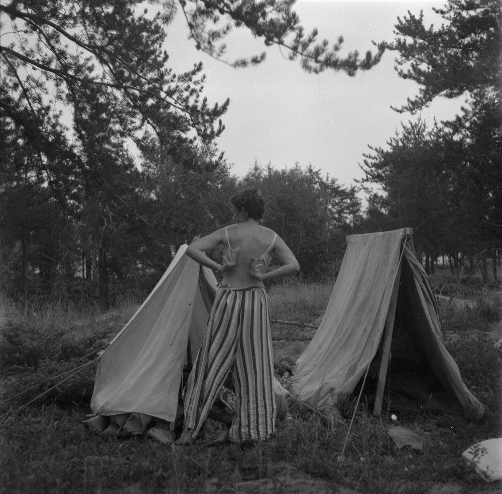 Stunning Image of Anna Brown on 8/7/1954