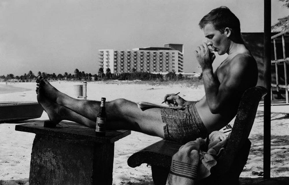 What Did  Hunter S. Thompson Look Like  59 Ago