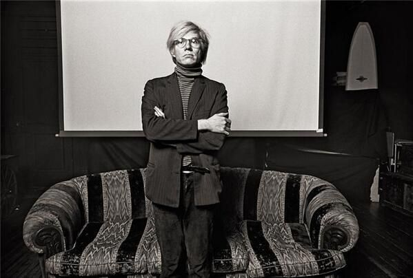 Stunning Image of Andy Warhol and Norman Seeff in 1969