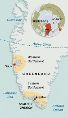 Viking settlements in Greenland