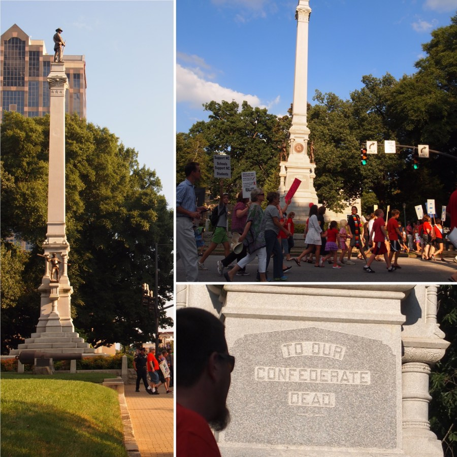 Confederate Memorial Raleigh North Carolina