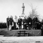 Unveiling of the Sharpshooters' Memorial. November 1, 1888. Source: LAC, Topley Series E, MIKAN No. 3362496