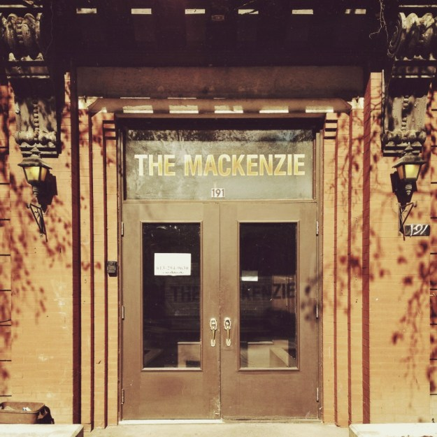 The Entrance to the Mackenzie