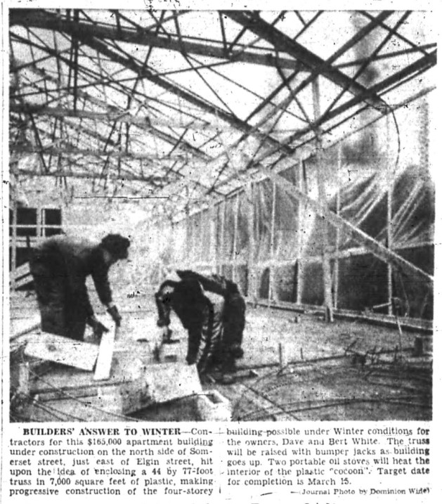The White brothers were also innovative. Source: Ottawa Journal, November 10, 1956, Page 15.