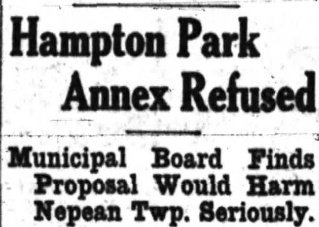 Nope. Source: Ottawa Journal, December 21, 1934, Page 2.