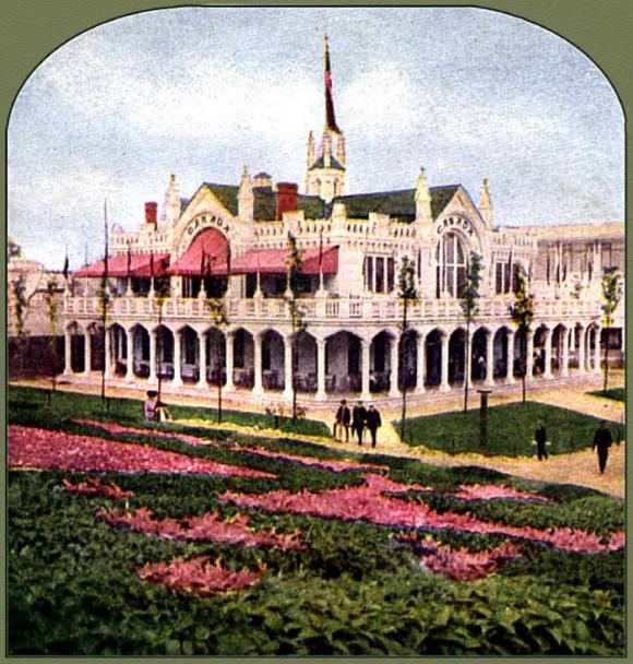 Canada Pavilion, St. Louis World's Fair, 1904.