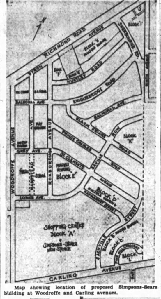 The Journal's reproduction of the Honeywell Farm / Westwood plan.