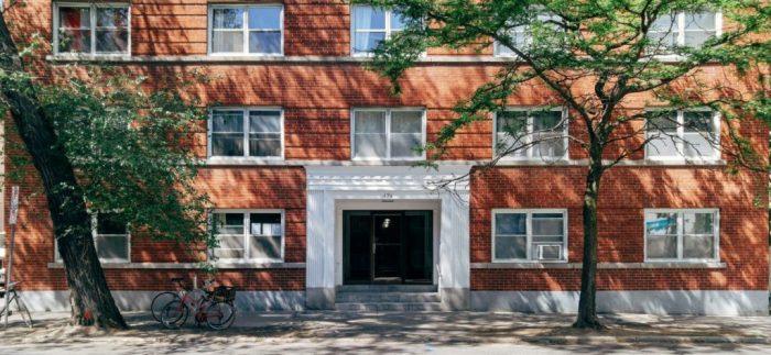 J.R. Beach's 1950 apartment at 196 Metcalfe. Image: June 2016.