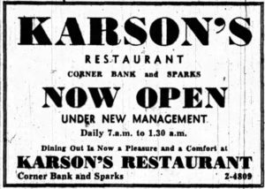Under New Management. Source: Ottawa Journal, February 2, 1948, p. 21.
