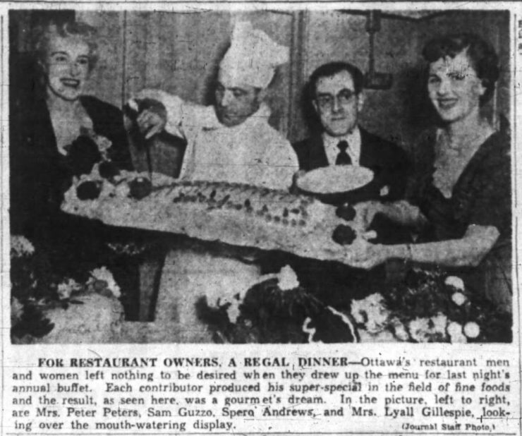 Once Andrews took over the Ottawa Branch of the CRA, Citizen and Journal reporters were around more frequently. Source: Ottawa Journal, January 16, 1952, p. 8.
