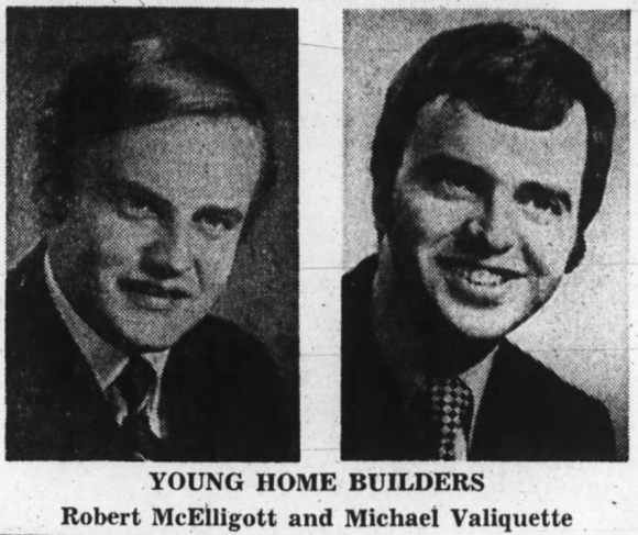 Young Guns: Robert McElligott and Michael Valiquette. Source: Ottawa Journal, November 7, 1970, p. 11.