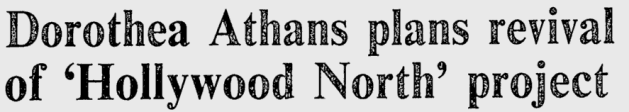 Some dreams die hard. Source: Ottawa Citizen, June 15, 1982, p. 2.