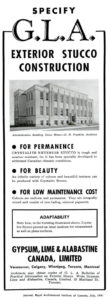 Advertisement from the RAIC Journal, July 1941.