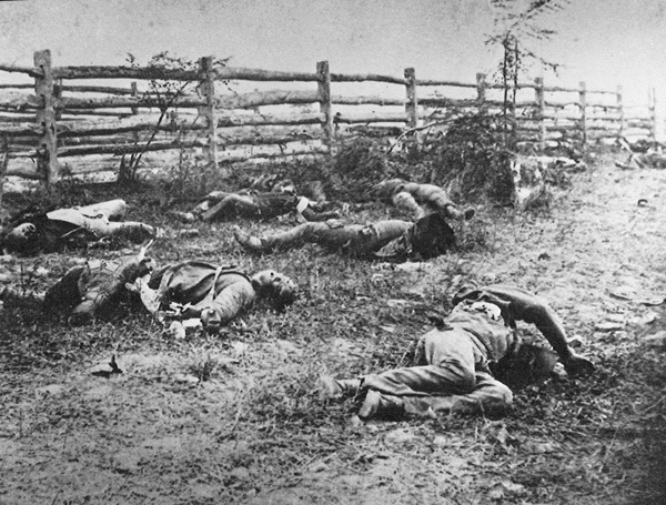 The Dead of Antietam | HistoryNet