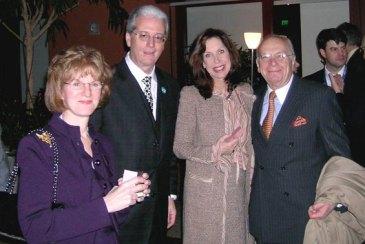 Sheila Parish, Anthony Benedetto, Mrs. Lefkovits, Albert Lefkovits