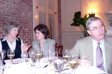 Diane Benedetto, Anne Powell, Frank Powell