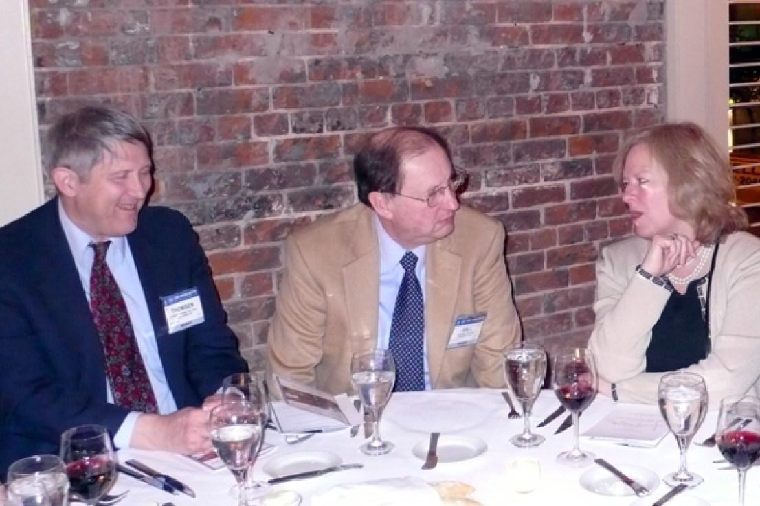 Robert Thomsen, John Hall, Barbara Spielvogel