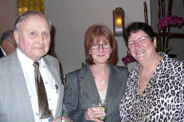 Larry Millikan, Sheila Parish, Marcia Ramos-e-Silva