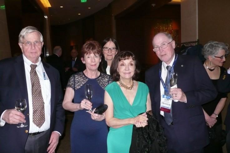 Clark Lambert, Muriel Lambert, Patricia Engasser, Martin Black