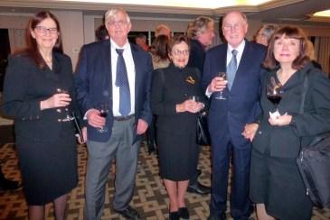Muriel Lambert, Clark Lambert, Martin Black, Patricia Engasser