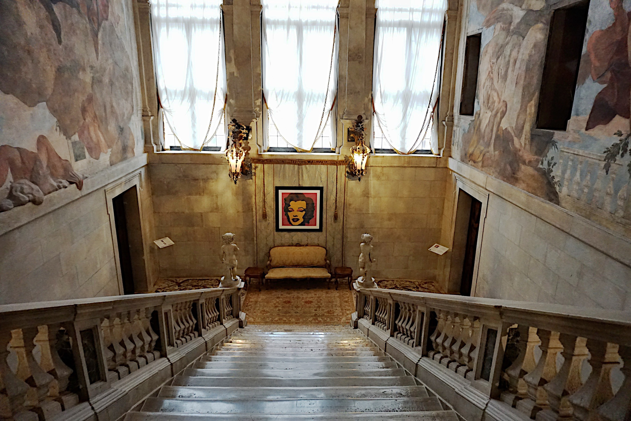 Ca' Segrado Hotel staircase