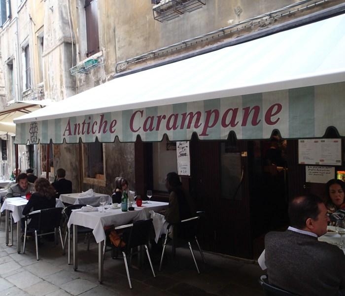 Venice: Antiche Carampane