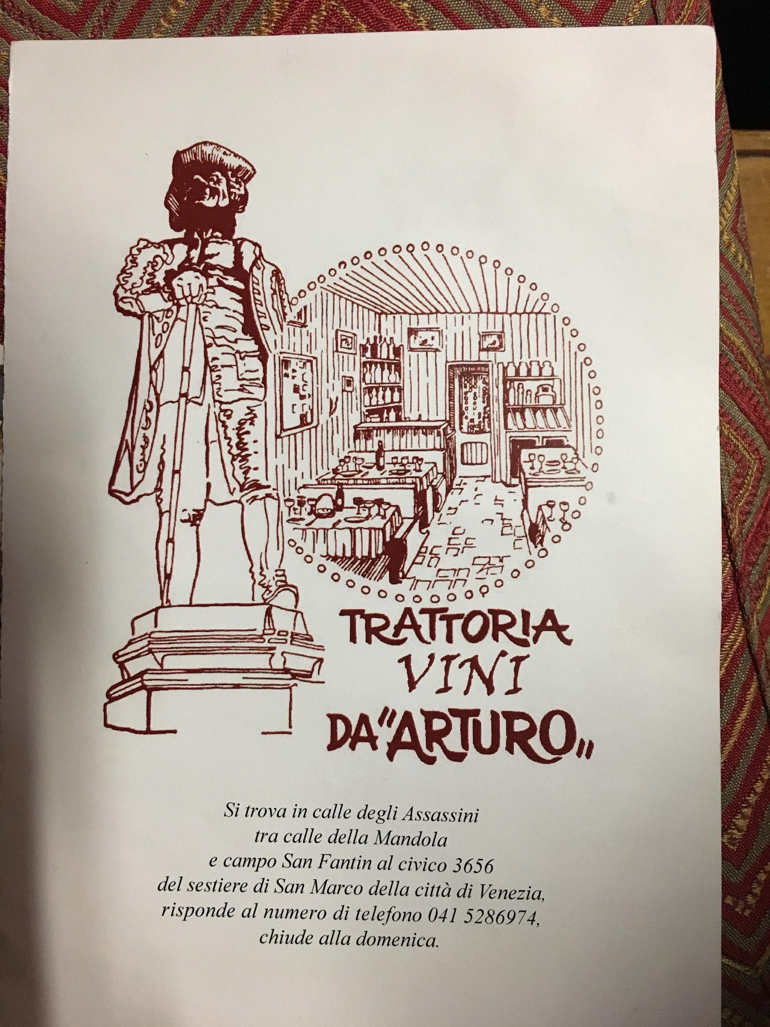 Venice: Vini da Arturo