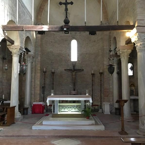 altar at Cattedrale di Santa Maria Assunta
