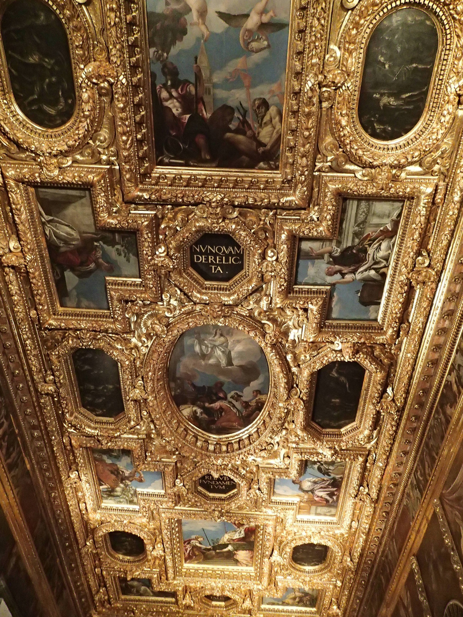 ceiling at Doge's Palace