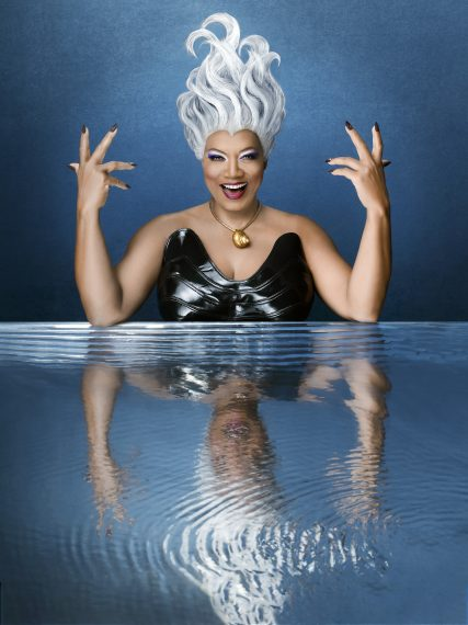 Queen Latifah as Ursula in The Wonderful World of Disney: The Little Mermaid Live