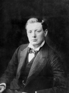 Winston Churchill in 1900