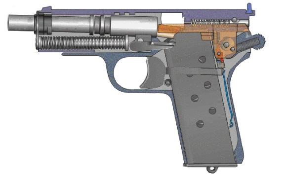 dfd51eb722c Esimene kassett saadetakse käsitsi, vabastades poldi samaaegselt päästiku  tõmbamisega. Ülejäänud vooru tulistamiseks vajutage lihtsalt päästikut.