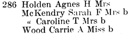 1909 City of Newton Directory