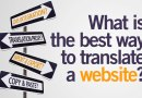 How to translate a website into english or any other language
