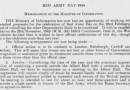 Celebration of Red Army Day in 1944 memorandum for the British War Cabinet by the Ministry Of Information