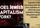 Video & Audio: Jews are the living proof that Capitalism is a TOTAL FAILURE!