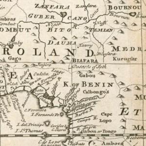 Desert of Seth Biafra 1745 Africa