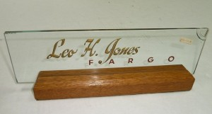Leo H. Jones/Fargo Office Sign