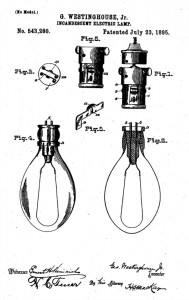 Westinghouse stopper lamp patent