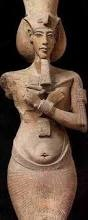 Egyptian Pharoah Akhenaten (d. -1334)