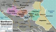 North Caucasus Map