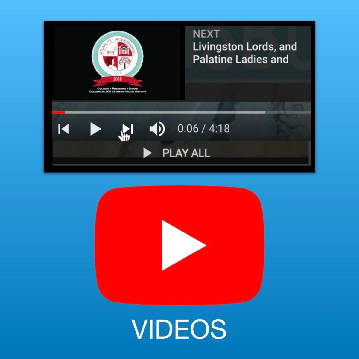 HistorySpeaks Video Library